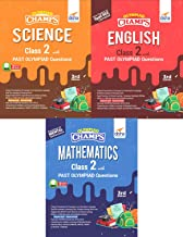 Olympiad Champs Science, Mathematics, English Class 2 with Past Questions 3rd Edition (set of 3 books)