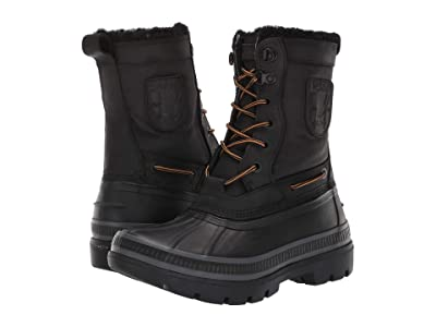 Sperry Ice Bay Tall Boot (Black) Men