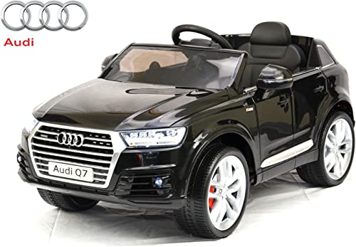 seguro de calidad Elektro Kinderfahrzeug -  Audi Q7  - - - lizenziert - 12V7AH Akku,2 Motoren- Fernsteuerung, MP3  minoristas en línea