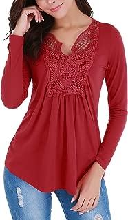Womens Tops Deep V-Neck Low Cut Ruched Front Short Sleeve Peplum Ruffle Blouse Figure Flattering Shirt