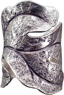 NicoWerk Argento Anello Argento 925 regolabile signora anelli da donna gioielli SRI210
