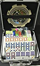 Mexican Train & Chicken Domino Set, Professional Set of 91, Double of 12