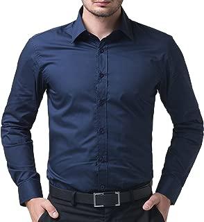 ZAKOD Plain Cotton Shirts for Men for Formal Use,100% Cotton Shirts,Available Sizes M=38,L=40,XL=42,6 Colors Available