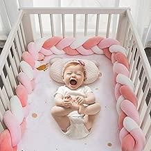HB life Bettumrandung Babybett 2m Baby Nestchen Bettumrandung Weben Geflochtene Sto/ßf/änger Dekoration Krippe Baby Bettumrandung Kantenschutz Kopfschutz f/ür Krippe Kinderbett