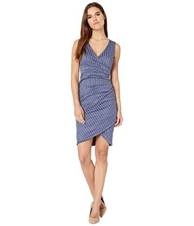 Nicole Miller Stefanie Dress (Denim Blue) Women
