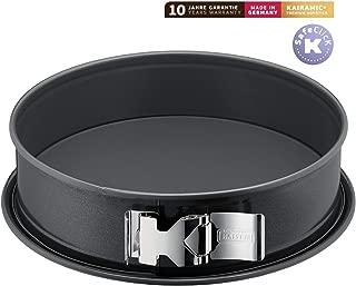 Kaiser La Forme Plus Springform with Flat Bottom, Ø 30 cm, Grey