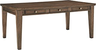 Signature Design by Ashley Flynnter Dining Room Table, Medium Brown