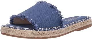 fabric slide sandals