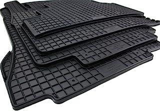 kfzpremiumteile24 Gummimatten Kompatibel mit A Klasse W168 Baujahr 1997 08/2004 Premium Fußmatten Allwetter Schwarz 4 teilig