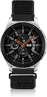 YSSNH 20mm 22mm Quick Release Watch Band Compatible with Galaxy Watch Active 2 Galaxy Watch 46mm Smart Watch, Nylon Soft R...