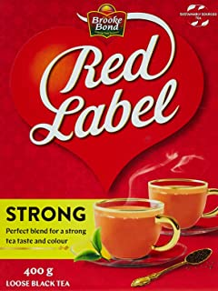 Brooke Bond Red Label Black Loose Tea, 400 gm