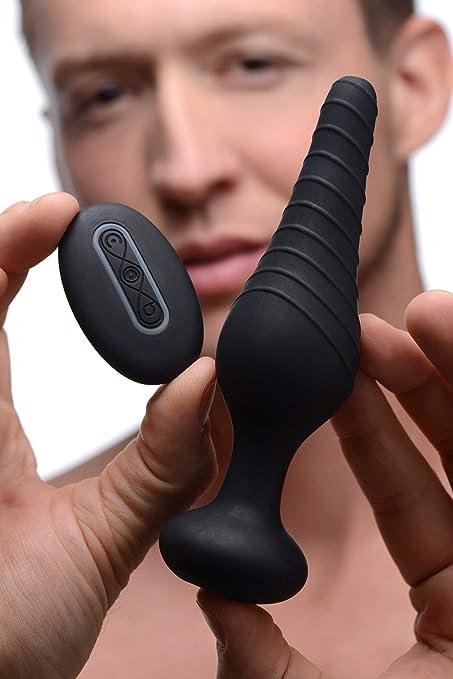 Under Control Vibrant Butt Plug avec Télécommande : Amazon.fr: Hygiène et  Santé