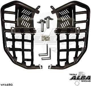 Yamaha YFZ 450 (2004-2009) (2012-2013) Propeg Nerf Bars Black Bars w/Black Net