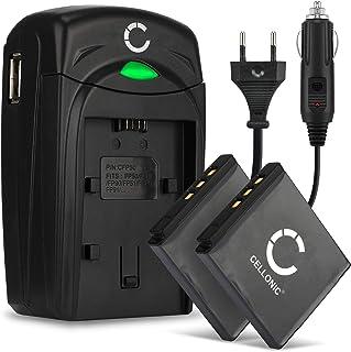 CELLONIC 2X Batteria Compatibile con Fujifilm Fuji X10 X20 XF1 XP200 XP150 XP100 Instax SQ10 Share SP-3 F100ER F550EXR F66...