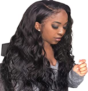 FASHION PLUS Full Lace Wig Brazilian Body Wave Human Hair Wigs With Baby Hair 150% Glueless Full Lace Wigs Human Hair For Black Women Natural Color