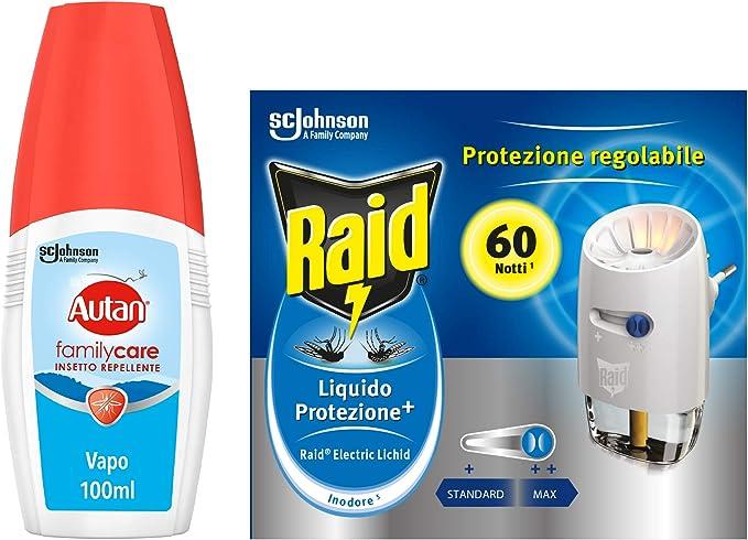 78 opinioni per Kit Protezione dalle zanzare Raid Autan: