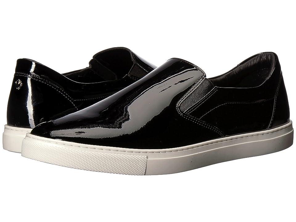 DSQUARED2 Patent Slip-On Sneaker (Black) Men