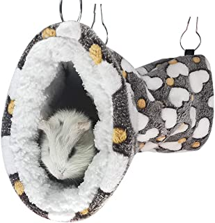 Small 4 piece set for rats polar bear cotton rat toys rat cage accessories sugar glider hammock pet lair rodents ferret accessories