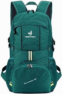 NEEKFOX Leichte Packable Reiserucksack Wanderrucksack, Tagesrucksack, 35L Faltbare Camping Rucksack, Utra leicht Outdoor S...