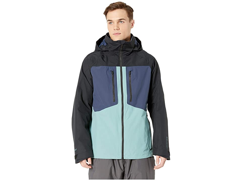 Burton [ak] 2L Swash Jacket (Trellis/Mood Indigo/True Black) Men