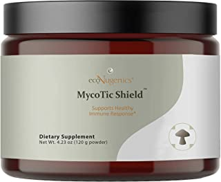 EcoNugenics MycoTic Shield - Immune Support Supplement for Tick and Vector-Borne Health Concerns - Promotes Immunity, Ener...