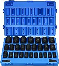 "Grey Pneumatic (8029D 3/4"" Drive 29-Piece Deep Fractional Master Socket Set"