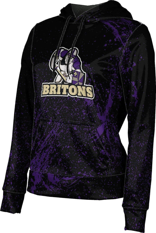 ProSphere Albion College Girls' Pullover Hoodie, School Spirit Sweatshirt (Splatter)