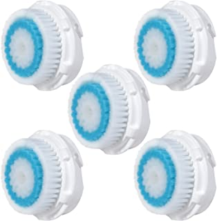 E-Cron Brush Heads- Deep Pore, Compatible Heads for Facial Cleansing Device. Spare heads fit on Mia 1, 2, 3(Aria), SMART P...