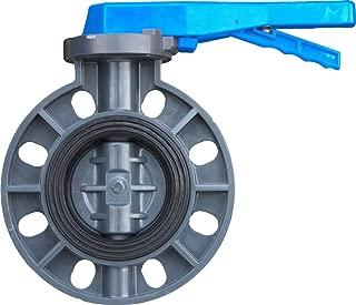 IrrigationKing RKLV6B PVC Butterfly Valve, 6