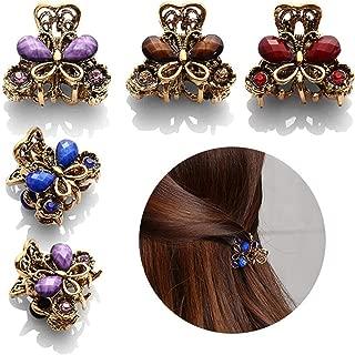 1 Pcs 2019 Fashion Charming Hair Accessories Retro Butterfly Hairpins Crab Mini Hair Clips For Women Girls Headwear Jewelry