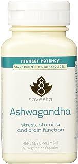 Ashwagandha, 60 Capsules, Savesta