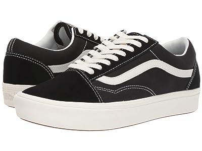 Vans Comfycush Old Skool ((Ripstop) Black/Black) Athletic Shoes