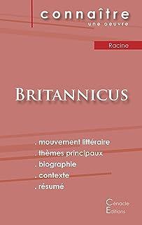 Fiche de lecture Britannicus de Racine (Analyse litteraire de reference et resume complet)