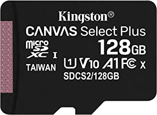 キングストン microSD 128GB 最大100MB/s UHS-I V10 A1 Nintendo Switch動作確認済 Canvas Select Plus SDCS2/128GB 永久保証
