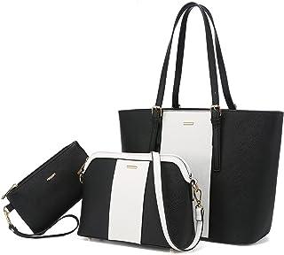 LOVEVOOK Handtasche Damen Schultertasche Handtaschen Tragetasche Damen Groß Designer Elegant Umhängetasche Henkeltasche Se...