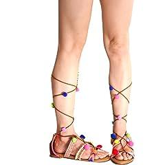 2a69906e0a4c Lolli Couture Forever Link Open Toe Multi Elastic Strap Desig .