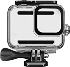Kupton Waterproof Housing Case for GoPro Hero 8 Black, 60M/ 196FT Underwater Protective Diving Case Shell with Quick Release Mount Accessories for Go Pro Hero8 Action Camera