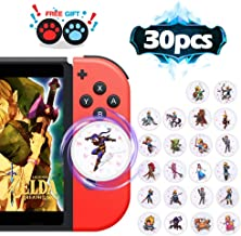 NFC Tag Game Cards for the Legend of Zelda Breath of the Wild Switch/Wii U - 30pcs Mini Cards
