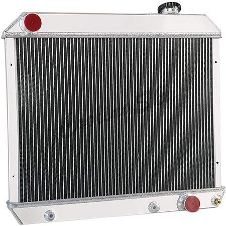 "1963-1966 Chevy Pickup Truck Aluminum American Eagle 2 Row 1/"" Tubes Radiator 284"