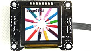 OLED 2828 Display Module (Arduino Compatible)/In Low Ambient Light Conditions Such As A Dark Room An OLED Screen Can Achieve A Higher Contrast Ratio Than An LCD