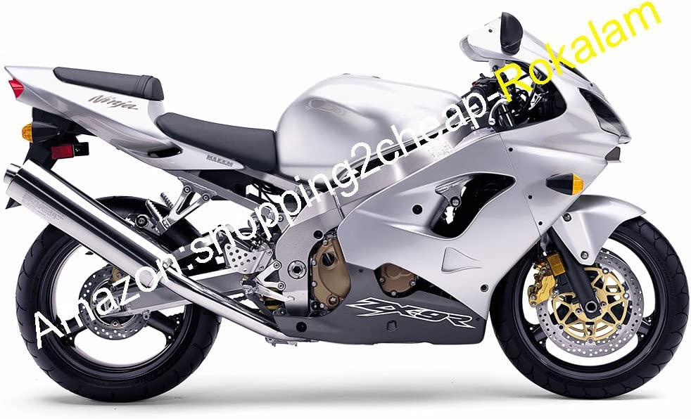Silver Black ZX 9R 02-03 ZX9R Finally popular brand Fairing Kawasaki Compression For C ! Super beauty product restock quality top!