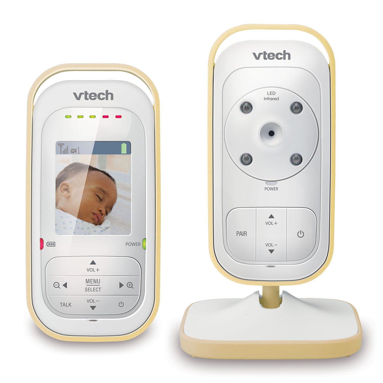 VTech VM311-13 Yellow Video Baby Monitor with Automatic Infared Night Vision, Talk-Back Intercom, Digitized Transmission & 1,000 feet of Range