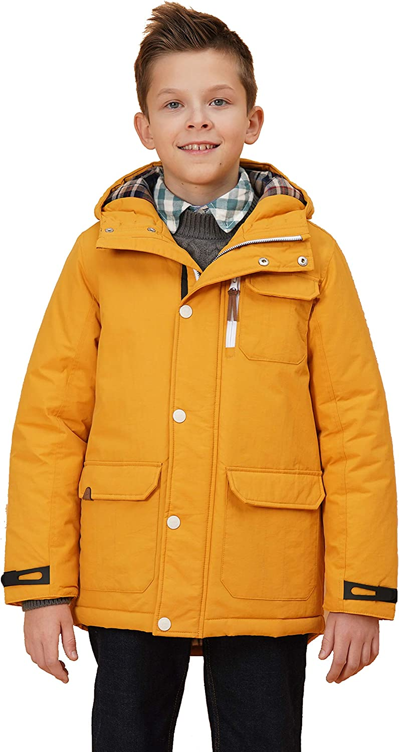 maoo garden Boys Thicken Winter Coat Heavy 5 ☆ very popular Jacket Quilted Kids W Manufacturer regenerated product