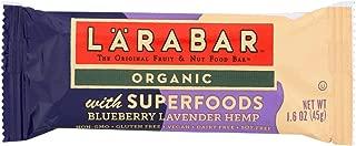 LARABAR, BAR, OG2, SPRFD, BBRY LAV, HP, Pack of 15, Size 1.6 OZ - No Artificial Ingredients Dairy Free Gluten Free Vegan 95%+ Organic