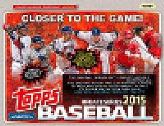 2015 Topps Series 3 Updates & Highlight Baseball Cards JUMBO Hobby Box (10 Packs/Box, 50 Cards/Pack) - 2 Memorabilia & 1 Autograph Per Box!