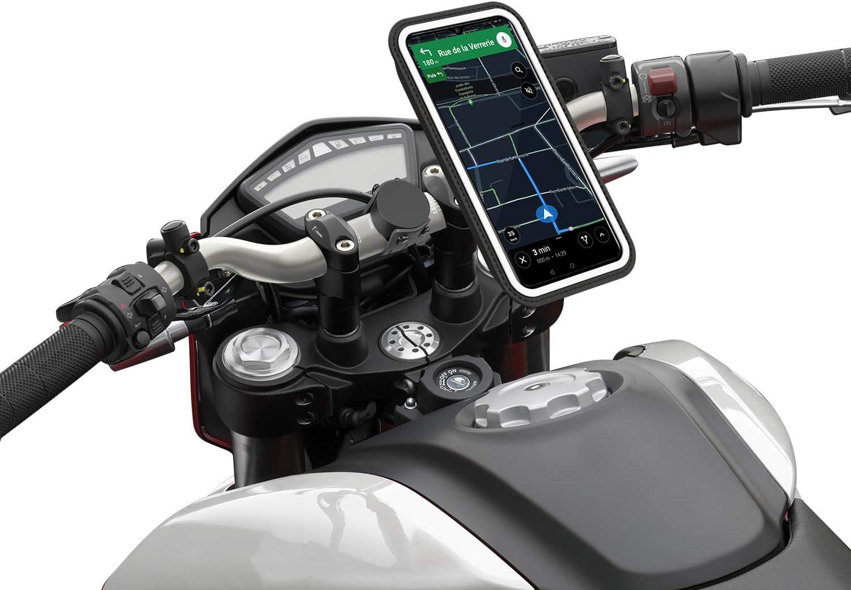SHAPEHEART, Soporte magnético para smartphone con bolsa universal, T XXL (teléfono 9,2 x 17,2 cm máximo).