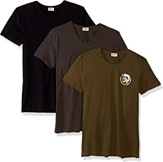Diesel Men's Randal 3 Pack Crew Neck T-Shirts