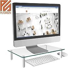 PUTORSEN® Soporte de Monitor pc - Elevador de Monitor 8cm