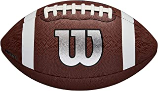 Wilson WTF1729XB Balón de Fútbol Americano, Nfl Legend, Uso Recreativo, Tamaño Oficial, Material Compuesto