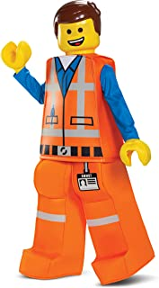 Disguise Emmet LEGO Movie 2 Prestige Boys' Costume